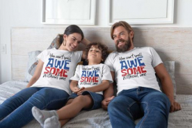 BUY CUSTOMIZED FAMILY T-SHIRT ONLINE INDIA AT LAPARWAH